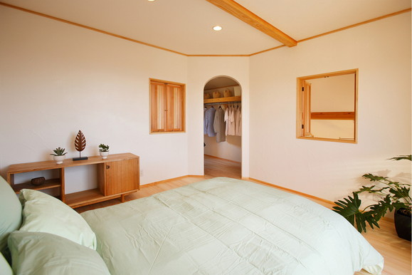 寝室デザイン_四季の住まい