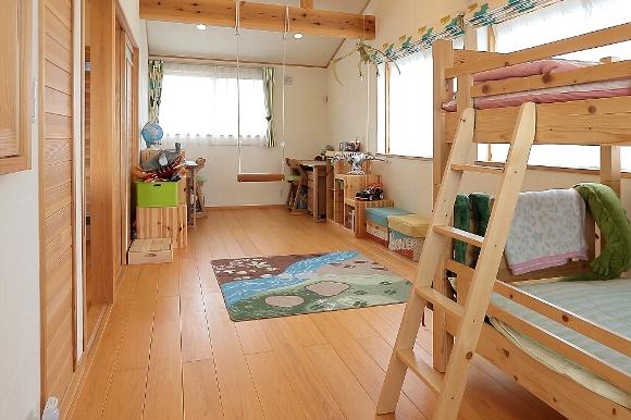 子ども部屋デザイン_四季の住まい
