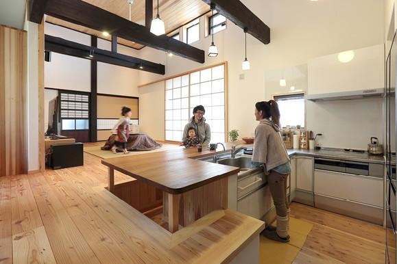 キッチンデザイン_四季の住まい